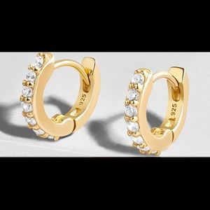 Baublebar Huggie Hoop Earrings